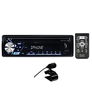 Pioneer DEH-S4000BT Single Din Bluetooth In-Dash CD/Am/FM Car Stereo Receiver with Dual Phone Connection, Pandora Control