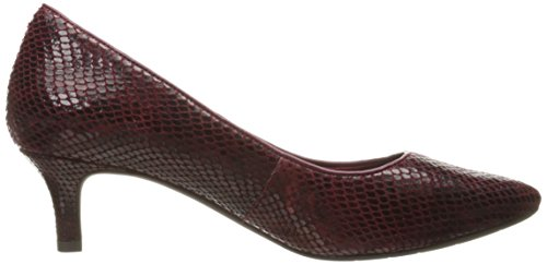 Rockport Women's Total Motion Kalila Dress Pump Cabernet Multi Snake latest cheap online Vw1ORVi