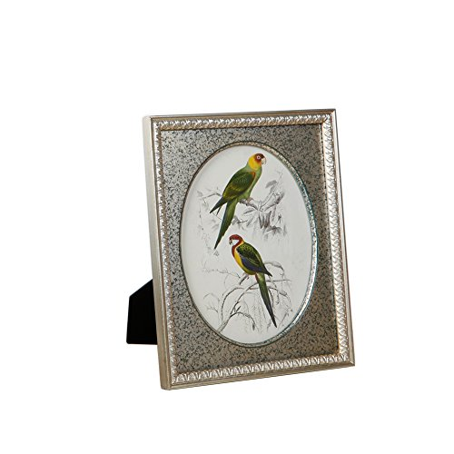 Fulemay Oval Ornate Picture Frame 8x10 Wood for Tabletop and Wall Decoration ()