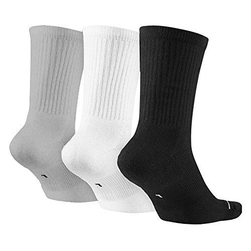 Nike Homme 3 white Crew Set Grey Black De Chaussettes Jumpman wolf rqY8wXr