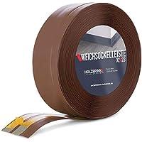 HOLZBRINK Rodapiés flexible autoadhesivo Chocolate Rodapiés flexible 32x23