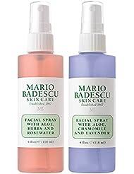 Mario Badescu Rosewater Facial Spray and Lavender Facial Spray Duo, 4 oz.