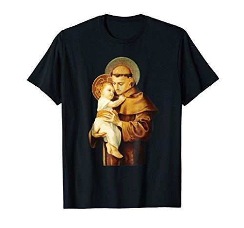 - St Anthony of Padua Catholic Saint T-Shirt