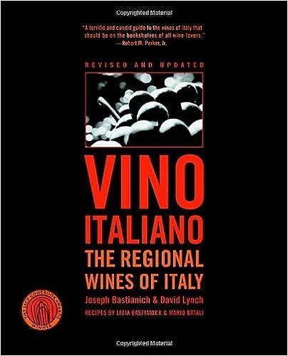 Book Vino Italiano: The Regional Wines of Italy by Joseph Bastianich (2005-08-02)