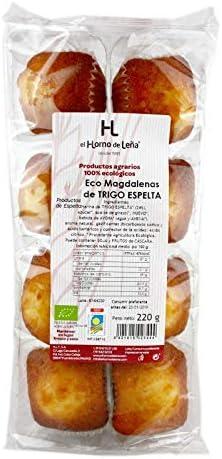 Horno de Leña, Magdalenas de Trigo Espelta, Eco, 220 g: Amazon.es ...