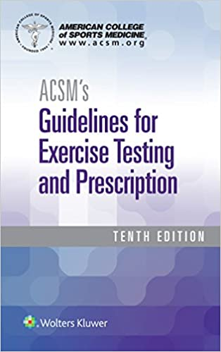 Acsm guidelines for exercise testing and prescription apa citation