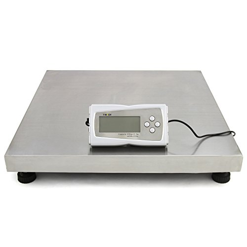 T-Mech Veterinary Animal Weighing Scales, 50cm x 50cm Platform, Stainess Steel