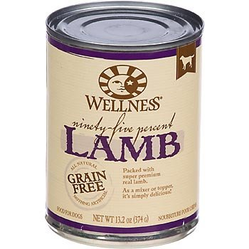 Wellness 95% Lamb Adult Canned Dog Food by Wellness Natural Pet Food