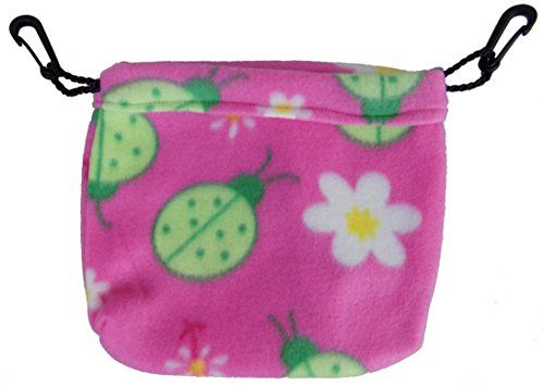 (Sleeping Pouch for Sugar Gliders and other small pets (Ladybug))