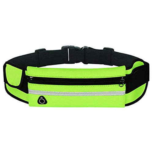 Outdoor Running Waist Bag Waterproof Mobile Phone Holder Jogging Belt Belly Bag Women Gym Fitness Bag,Green