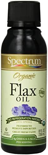 Cooking Oils: Spectrum Organic Flax Oil
