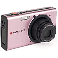 AGFAPHOTO Optima 147 PK 14.1 MP Digital Camera with 7 x Optical Zoom (Pink)