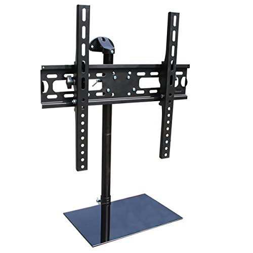 "Adjustable Tilt Wall Mounted TV Stand for 20""-50"" LED LCD Fl"