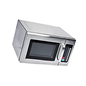 Microwave Special Offer Stainless Steel Commercial Microwave with Push Button Control - 208/240V, 1800W Now on Sale Price for a limited time only (Stainless Steel, 1.2 cu. ft 1800W)