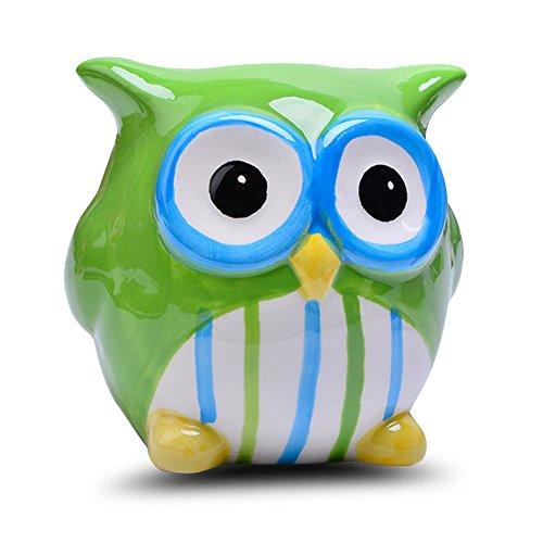 Baby Owl Money Savings Piggy Bank Cute Piggy Money Bank Savings Piggy Banks Nursery ()