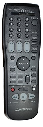 Mitsubishi 290p116b10 Eur647020a Tv Hdtv Remote Control Tested - Mitsubishi Tv Remote
