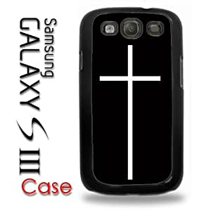 Samsung Galaxy S3 Plastic Case - Hipster Christian Cross Thin Cross Hipster