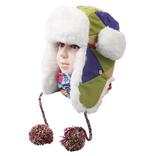 f7718a76fe9 VT BigHome Winter Warm Earflap Female Bomber Hats Women Russian Trapper  Thermal Hats Snow Ski Caps