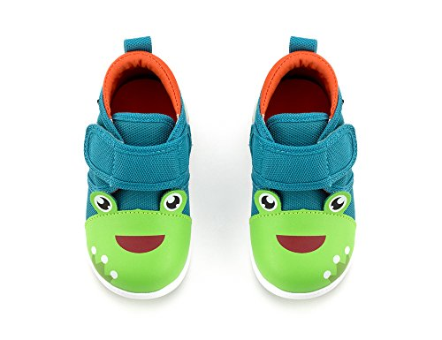 ikiki Squeaky Shoes for Toddlers w/Adjustable Squeaker (4, Prince Kairu) by ikiki (Image #2)'