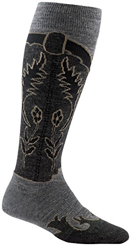 Darn Tough Annie Oakley Knee High Light Socks - Women's Gray Heather Medium