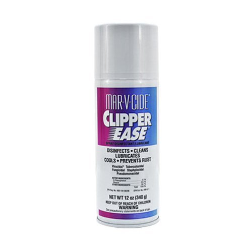 MAR-V-CIDE Clipper Ease Spray Disinfecant Lubricant Rust Prevention ()