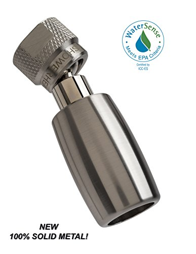 High Sierras All Metal 1 5 Gpm High Efficiency Low Flow Showerhead  Available In  Chrome  Brushed Nickel  Oil Rubbed Bronze  Or Polished Brass
