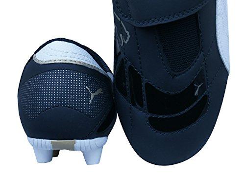 Puma Esito III r HG V Jr Niños botas de fútbol Black