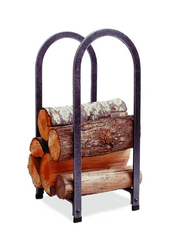 Enclume Vertical Arch Log Rack, Hammered Steel by Enclume Hearth