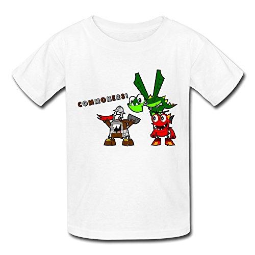 Kazzar Kid's Mixels Mixadel's Worst Nightmare Round Collar T Shirt S ()