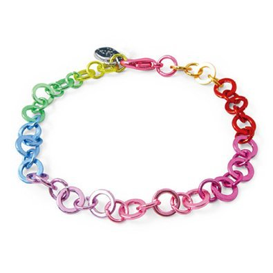 CHARM IT! Rainbow Chain Bracelet By High IntenCity