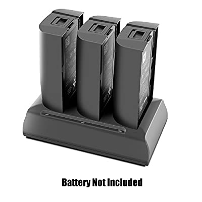 Anbee Bebop 2 Parallel Charging Multi Battery Charger, Fast Balance Charger Hub Station for Parrot Bebop 2 / Bebop 2 FPV / Bebop 2 Adventurer Drone Quadcopter: Toys & Games