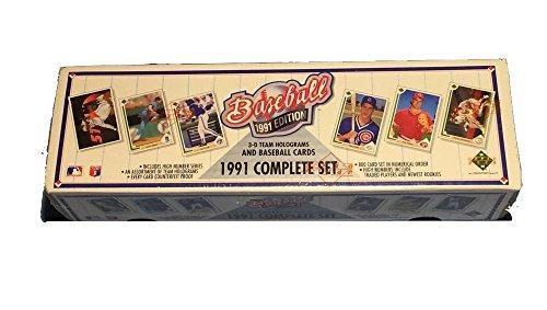 (1991 Upper Deck MLB Baseball Cards Complete Factory Set (800 cards))