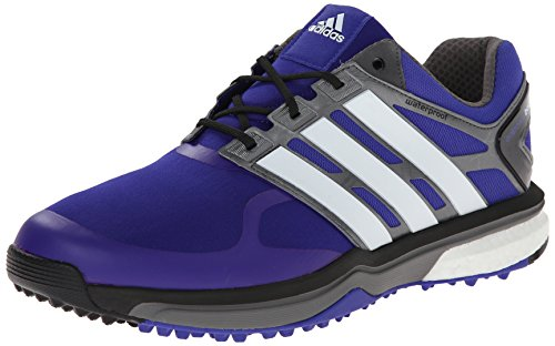 adidas Men's Adipower s Boost Golf Shoe, Night Flash/Running White/Dark Silver Metallic, 11 M US