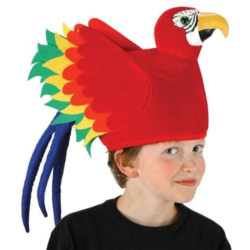 [Parrot] (Parrot Head Hat)