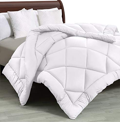 Utopia Bedding All Season Quilted Duvet Insert Down Alternative Comforter Twin Twin Xl White