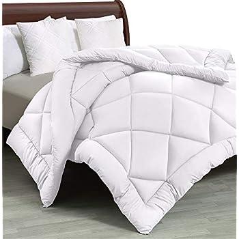 Utopia Bedding - All Season Quilted Duvet Insert - Goose Down Alternative Comforter - Full/Queen - White
