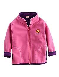 Banibear Girls Warm Fleece Jacket Coat Toddler Kids Winter Outerwear