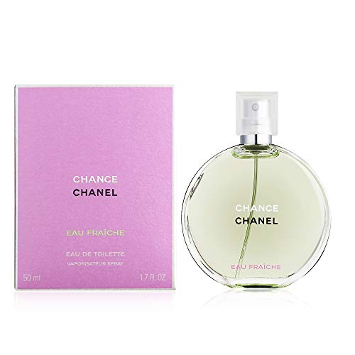 ChàNèl Chánce Eau Fraiche Eau de Toilette Women Spray 1.7 OZ./ 50 ml. (Bleu De Chanel Eau De Toilette Spray 50ml)
