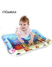 """Conthfut Kinder Aufblasbare Wassermatte 22 """"x18 in Fun Aktivität Center auslaufsichere PVC wassergefüllte, Wasser-Spielmatte für Baby, Säuglinge & Kleinkinder"""