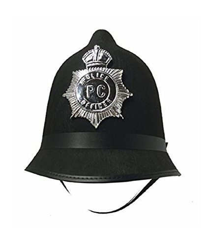 British Bobby Helmet - English Police Hat]()