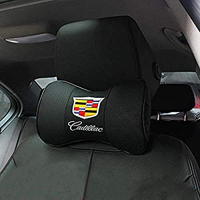 ffomo Bearfire Car Armrest Cushion Soft Leather Auto Center Console Pad Cover Handrail Box Universal Ergonomic Design Decoration Cushion Without Logo