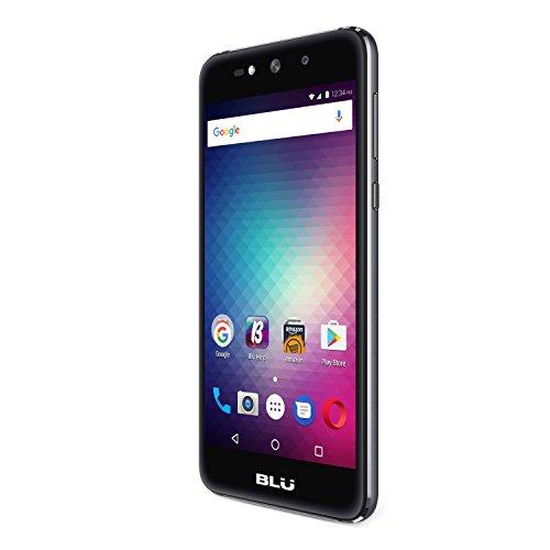 BLU Grand Max – Unlocked Dual SIM Smartphone- 8GB + 1GB RAM – Grey
