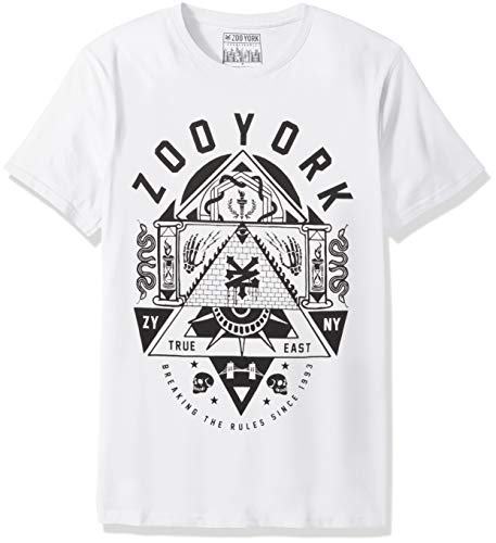 Zoo York Men's Short Sleeve Crew Neck Shirt, Obscurity White, X-Large ()