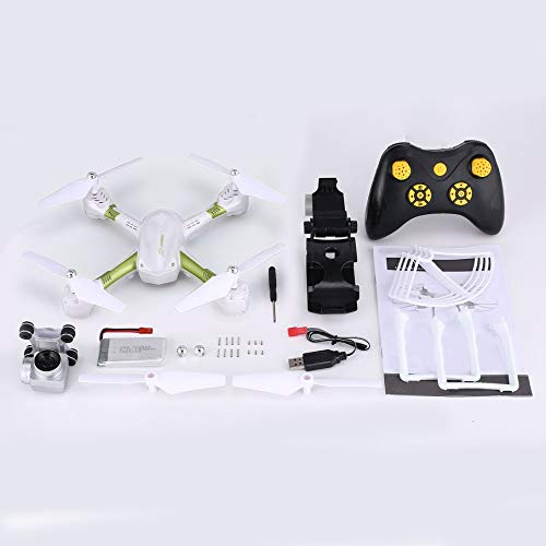 Knossos Quadcopter S31 Headless Mode Mini RC Helicopter Drone 2.4Ghz 6-Axis Gyro 1080P Weiß