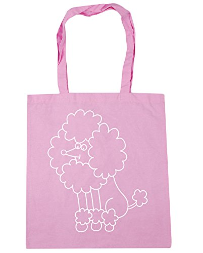 Gym Tote litres 42cm Classic Beach Pink x38cm Bag Shopping HippoWarehouse Poodle 10 gtxqnptA