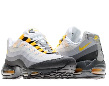 Nike Mens Air Max 95 No Sew Anthracite Varsity Maize Cool Grey 511306-071 8  - Buy Online in Oman.  83a2e1b05