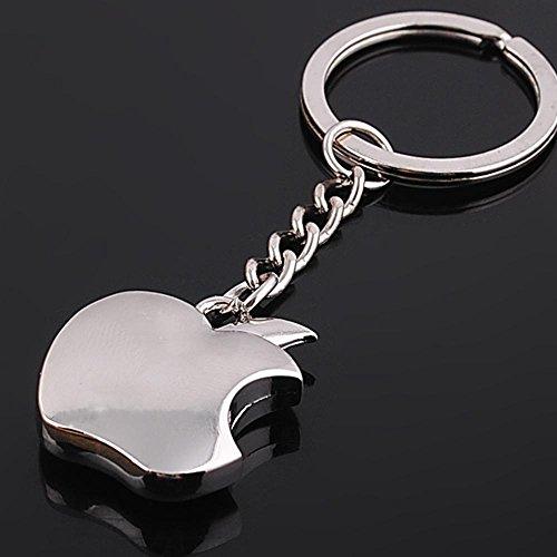 Apple-Logo-Metal-Keychain-Small-Size