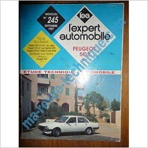 Meilleurs livres à télécharger gratuitement REVUE TECHNIQUE EXPERT AUTOMOBILE PEUGEOT 505 APRES 1986 in French PDF CHM B00E275JNU