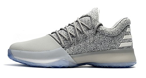 Men's Harden Vol. 1 Shoes James Harden Basketball Shoes - Grey/White (James Harden Shoes)