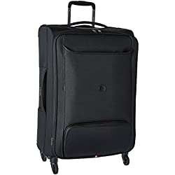 """Delsey Luggage Chatillon 25"""" Exp. Spinner Trolley, Black"""